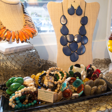 Necklaces and bracelets at Pier 88 Lake Wylie