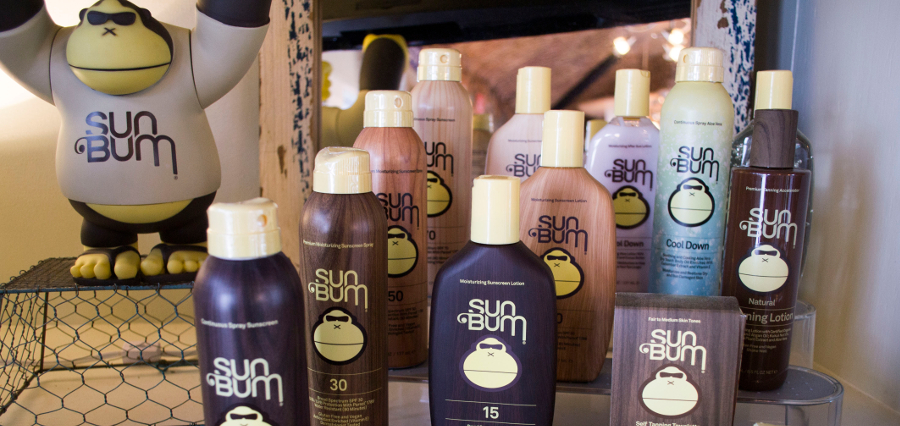 Sun Bum products available at Pier 88 Lake Wylie